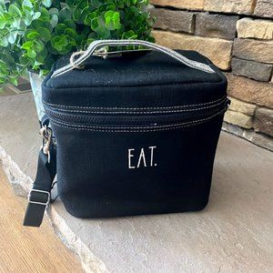 Rae Dunn Insulated Lunch Box EAT tote